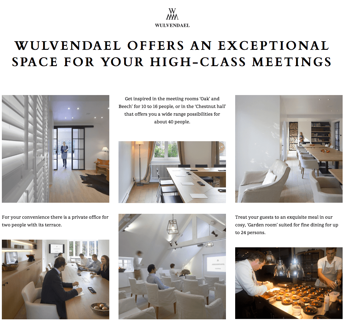 wulvendael in2sites website webdesign webbureau