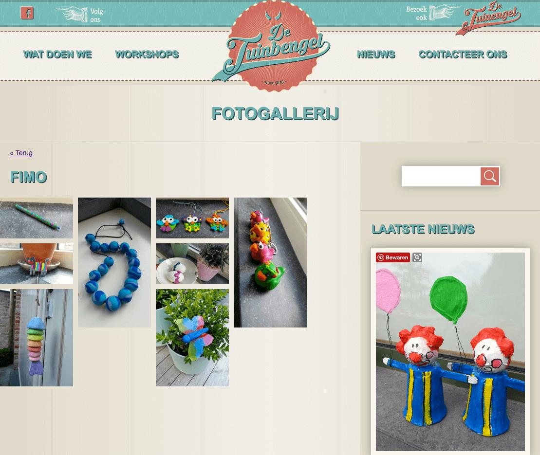 website tuinbengel webdesign in2sites webbureau