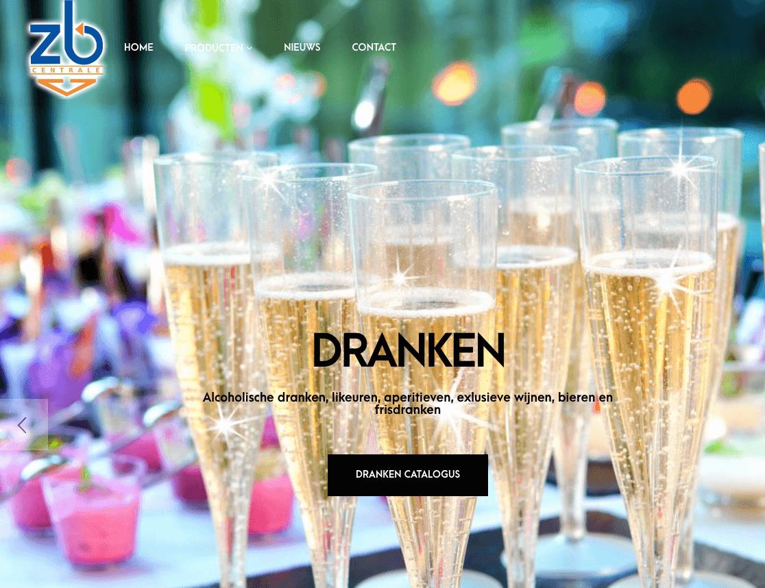 website zb centrale webdesign in2sites webbureau