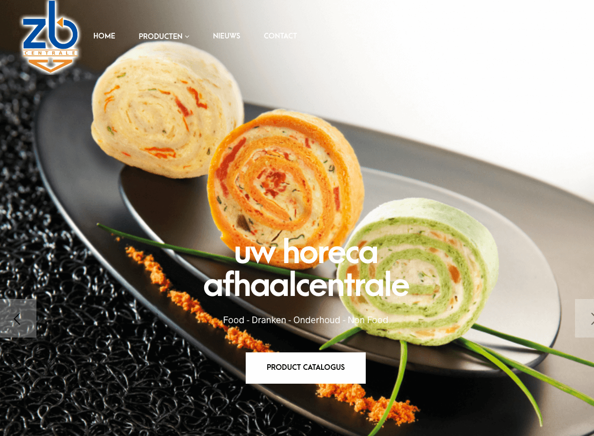 website zb centrale webdesign in2sites webbureau