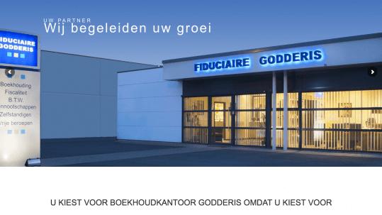 boekhoudkantoor godderis Roeselare Staden in2sites webdesign webbureau