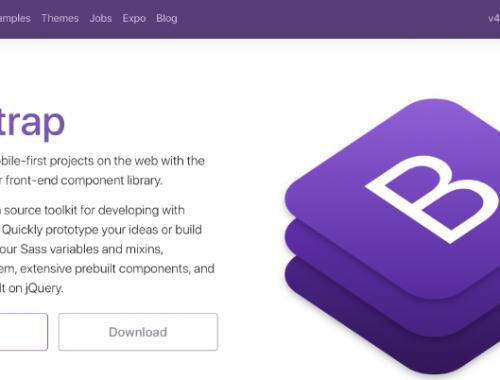 bootstrap 4 installatie
