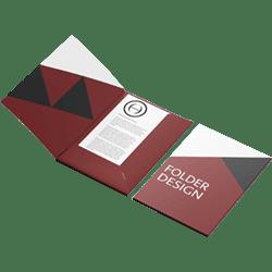 folder design met kaft