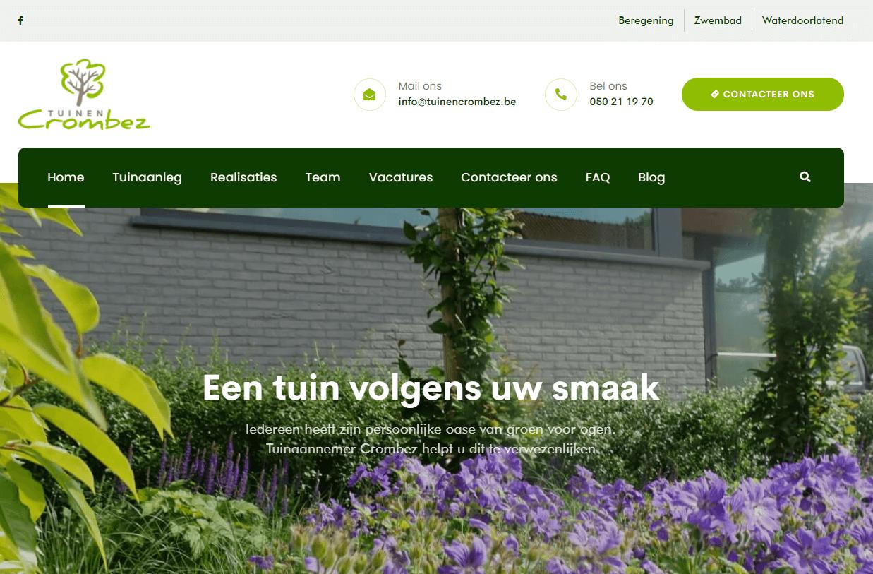 website tuinen crombez